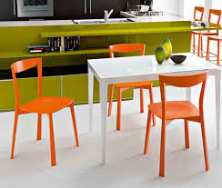 stunning orange kitchen chairs also best ideas about trends images