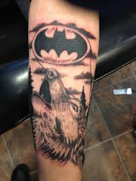 black and grey model wolf tattoos design idea for and
