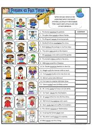 570 free esl present tense worksheets
