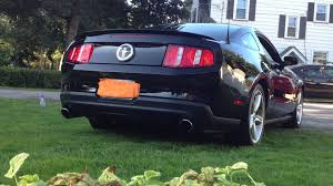 ford racing exhaust mustang v6 ford racing sport axleback exhaust on 12 mustang v6