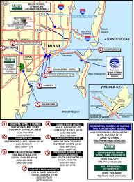 Miami Florida Map by Miami Hotel Map Miami Florida U2022 Mappery