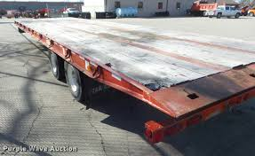 2005 trail eze te401 tilt deck trailer item da7700 sold