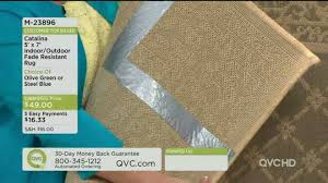 Veranda Living Indoor Outdoor Rug Perfect Qvc Outdoor Rugs Veranda Living 8x10 Reversible Border