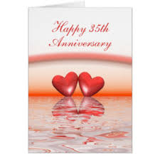 35 year wedding anniversary thirty fifth anniversary gifts on zazzle