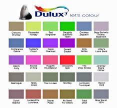 paint colour paint colour charts the poke