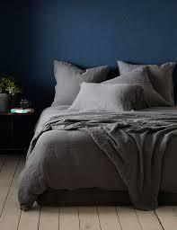100 Linen Duvet Cover Charcoal Linen Duvet Cover Secret Linen Store