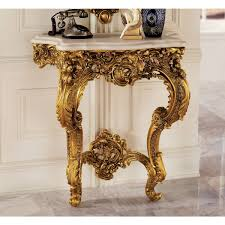 Antique Console Table Design Toscano Madame Antoinette Wall Console Table In