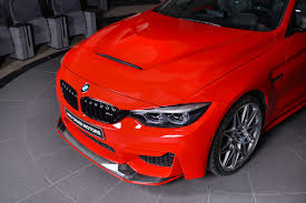 red bmw 2017 ferrari red bmw m4 is delicious to look at