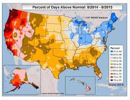 us weather map humidity of days above normal u s aug14 aug15 2015 most map weather