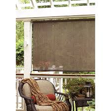 Patio Blinds Shades Exterior Shades White Finger