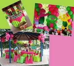 Barney Party Decorations Barney Party Decorations Teddi U0027s 2nd Birthday Pinterest