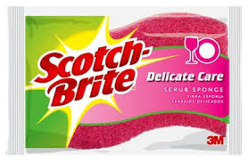 scotch brite light duty scotch brite delicate care scrub sponge