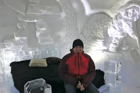 Hotel De Glace Canada by Ice Hotel In Quebec City