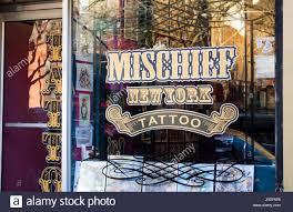 mischief tattoo parlar stock photo royalty free image 137987058
