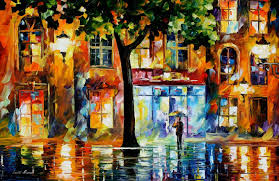 secrets of windows u2014 palette knife oil painting on canvas by