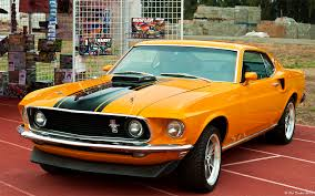 1969 mustang orange 1969 ford mustang fastback coupe 428 cobra jet with ram flickr