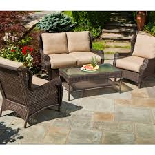 Rattan Patio Table Patio Better Homes And Gardens Wicker Patio Furniture Lanai