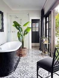 tile bathroom floor ideas 25 best white tile floors ideas on black and white
