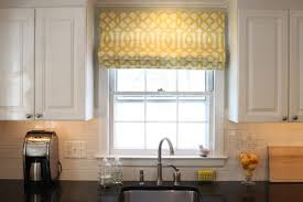 4 ideas for decorating the windows in the kitchen archiki roman curtains