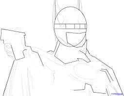 draw batman michael keaton step step dc comics