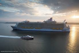 harmony of the seas first cruise of the world u0027s biggest ship
