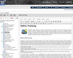 osha safety manual software template