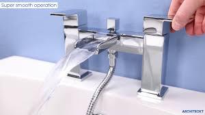 architeckt dakota bath shower mixer tap plumbworld youtube architeckt dakota bath shower mixer tap plumbworld