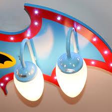 aliexpress com buy wooden led cartoon ceiling lights kids batman
