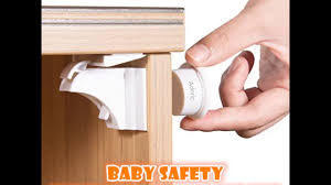 Magnet Cabinet Lock Adoric Baby U0026children Safety Magnetic Cabinet Locks Youtube