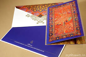 Indian Wedding Card Box Creative Wedding Invitation Cards India Yaseen For