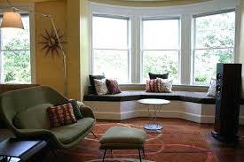 Modern Bay Window Curtains Decorating Bay Window Curtains Ideas Magnificent Bay Window Decorating Ideas
