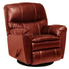 furniture yellow modern leather recliner with leather swivel