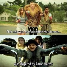 Carter Meme - macklemore s greatest inspiration is aaron carter