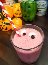 scary fruit smoothies kids halloween recipes youtube