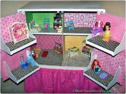 How To Make Doll House Furniture Diy Dollhouse From Repurposed Furniture Clever Housewife