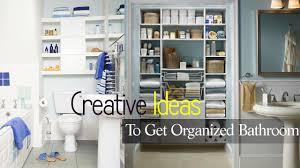 creative bathroom organization design ideas youtube