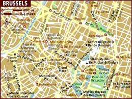 map brussels map of brussels
