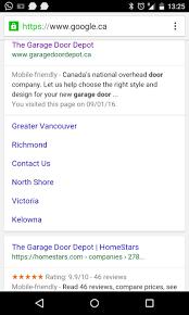 Overhead Door Depot by Elementiq Google
