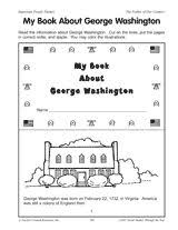 george washington close read for 1st and 2nd grade this bundle