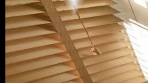 wood venetian blinds youtube