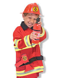 fireman costume doug chief play costume set toys