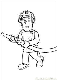 fresh fireman sam coloring pages 55 coloring books fireman