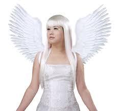 Angel Wings Halloween Costume Amazon Fashionwings Tm White Open Swing Shape Costume