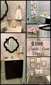 powder room update week 5 100 room challenge a purdy little