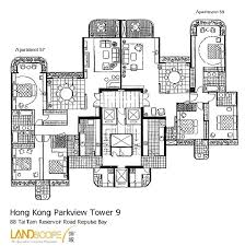 Parkview Apartments Floor Plan Hong Kong Luxury Apartments And Property Specialists Landscope