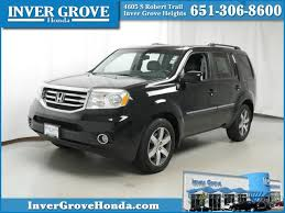 2012 honda pilot touring 4wd pre owned 2012 honda pilot touring for sale inver grove heights mn