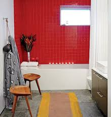 34 red bathroom wall tiles ideas and pictures