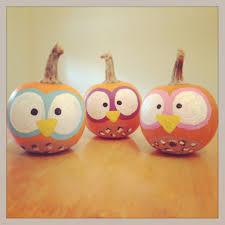 finished product owl pumpkins pumpkin painting arts u0026 crafts