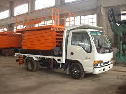 truck mounted lift table jinrui machinery
