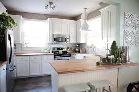 Kitchen Countertops White Cabinets Sense And Simplicity 4 Great Countertop Colours For White Kitchens